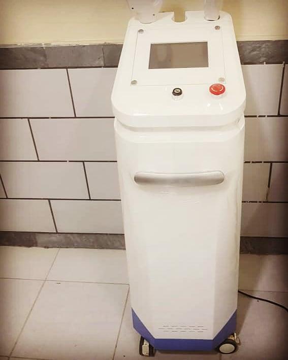 تصویر دستگاه لیزر shr ایلایت دو هندپیس